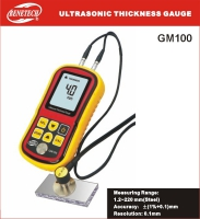 Benetech GM100 Ultrasonic Thickness Measurement Gauge Wave 1.2~220mm GM100 Ultrasonic Thickness Measurement Device