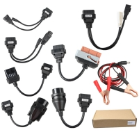 Autocom Car Cables Delphi Car Cable 8 Car Cables OBD Kit For Delphi Autocom VCI TCS And Multidiag Pro+
