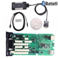 Bluetooth Autocom CDP+ Single Board Autocom CDP Pro Plus Cars Trucks Diagnostic Tool With Autocom/Delphi 2015.3 Software And Keygen