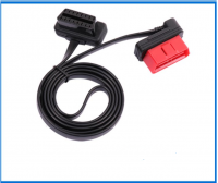 OBD OBDII Extension Cable Long OBD male to female OBD OBDII GPS Noodles Line Extend Flat Wire support CANBUS Compatible