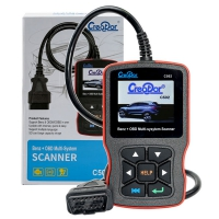 Creator C502 Mercedes-Benz OBDII EOBD Code Reader Mercedes Creator C502 Multi-system OBD2 Codes Scanner With V10.2 Creator C502 Mercedes Software