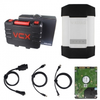 VXDIAG MB Star C6 Mercedes Benz Xentry Diagnosis VCI Original MB SD Connect C6 Benz Diagnostic Tool with DOIP&AUDIO Function Better than MB STAR C4/C5