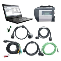 Mercedes Benz MB SD Connect C4 Multiplexer With Lenovo E49A Laptop Installed V2019.3 Mercedes Das Xentry Software Download Full Set Can Ready To Use