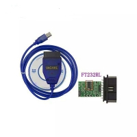 USB KKL 409.1 Vag Com Cable Vag com usb kkl 409.1 obd2 diagnostic interface with FT232RL chip can do programming function