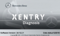 V2018.12 MB Star SD C4 Software 12/2018 Mercedes Benz Xentry OpenShell XDOS Download Software Work For MB Star SD Connect C4 And MB Star C5