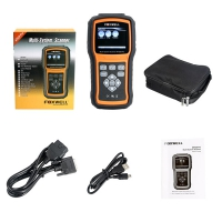 Foxwell NT520 Pro Multi-System Scanner Foxwell NT 520 Mercedes BMW Porsche Code Reader Scanner with 1 Free Car Brand Software+OBD Update Online