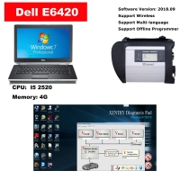 MB SD C4 Super Mercedes Benz MB SD Connect C4 with Dell E6420 Laptop installed V2019.12 Mercedes Xentry Openshell XDOS Software Full Set Ready to Use