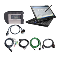 MB SD Connect Compact 4 Mercedes Star Diagnostic Tool With Touch Screen Lenovo Thinkpad X201T Laptop Installed V2019.12 Mercedes Das Xentry Software Download Full Set Can Ready To Use
