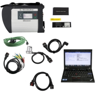 MB SD Connect C4 Doip Kit With Lenovo X220 Laptop Installed V2019.9 Mercedes Xentry Openshell XDOS Software HDD Ready to Use