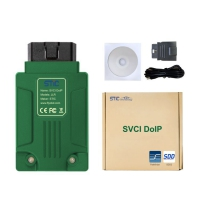 STIC SVCI DoIP Jaguar Land Rover Diagnostic Equipment Wifi JLR SVCI DoIP Diagnostic Tool with Pathfiner & JLR SDD V156 Software Support Online Programming Function
