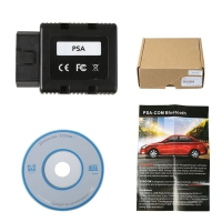 Bluetooth PSA-COM Diagnostic and Programming Tool For Peugeot/Citroen New PSA-COM PSACOM Diagnostic Interface Replacement of Lexia-3 PP2000