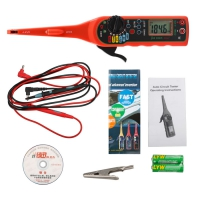 JIA XUN MS8211 Automotive Circuit Tester Detector Jiaxun MS8211 Digital Multimeter 4 in 1 functions of multimeter, test lamp, lighting lamp and probe