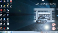 V2019.5 MB Star SD Connect C4 C5 Software Download Mercedes Benz Xentry OpenShell XDOS 05/2019 Win 7 Software With HDD/SSD Version