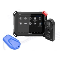 XTOOL X100 Pad2 Pro Full Configuration with KC100 Key Programmer Adapter and KS-1 TOYOTA Smart Key Simulator for All Lost