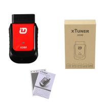 XTUNER X500 OBDII Scanner for Android OS XTUNER X-500 Bluetooth diagnostic tool with V2.5 XTUNER X500 software