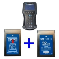 Super GM Tech 2 Scanner Vetronix Tech 2 Clone With 2pcs GM Tech 2 32MB Pcmcia Card