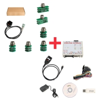 KTM FLASH KTMFLASH Car ECU Programmer With PCM Flash Power Box + KTM FLASH Ktmflash Adapters Full Set