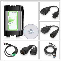 Volvo Vocom Adapter 88890300 Vocom Volvo Truck Diagnostic Tool with Round Adapter for Volvo/Renault/UD/Mack Truck Diagnose Support Online Update