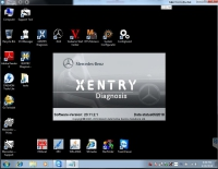 V2018.5 MB Star C4 C5 Software 05/2018 Mercedes Benz Xentry Openshell XDOS Super Engineer Software DTS Monaco & Vediamo support win7 system