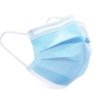 50pcs/lot Disposable Protective Mask With Three Layer Disposable Safety Mask Features Medical Grade Standards