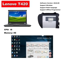Quality A MB Star C4 SD Connect With Lenovo T420 Laptop Installed V2019.12 Mercedes Benz Xentry/Das Software Full Set Ready To Use