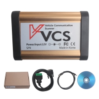 Bluetooth VCS Scanner interface VCS Vehicle Communication Scanner Interface with V1.45 VCS Scanner software