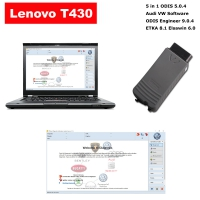 Audi VW ODIS Interface VAS 5054a With Lenovo T430 Laptop Installed V5.0.4 ODIS Download Software Ready To Use