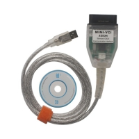 Toyota Mini VCI Single Cable Mini VCI OBD2 Cable for Toyota With V13.00.022 Toyota tis techstream software