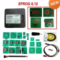 Xprog 6.12 Programer Full Kit V6.12 Xprog-M Box ECU Programmer Device With USB Dongle Add new Authorization