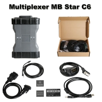 OEM Benz C6 Multiplexer MB Star C6 Mercedes Benz Xentry diagnosis VCI With Doip And V2018.9 Mercedes Xentry/Das Software No Need Activation