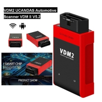 V5.2 UCANDAS VDM2 New Wifi Android UCANDAS VDM II All system Automotive Scanner Support Android Phone & Tablet