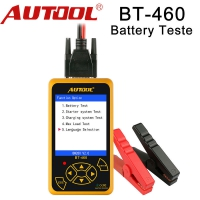 AUTOOL BT-460 Car Battery Tester AUTOOL BT-460 Automotive Battery Tester Analyzer For 12V Cars And 24V Heavy Duty Trucks