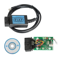 Fiat Scanner OBD2 EOBD USB Diagnostic Cable For FIAT ALFA And ROMEO Scanner Cable With Fiat Scanner Software