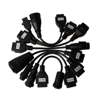Delphi Truck Cables Autocom Truck Cable Kit 8 Truck Adapters Cables Set for AutoCom TCS CDP+ DELPHI DS150E