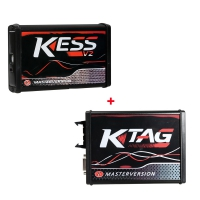 Kess Ktag EU Clone With Red PCB: Kess 5.017 Online Master + V7.020 Ktag Master Version No Token Limited