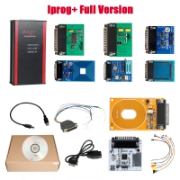 Full Version V84 Iprog+ Iprog Pro Programmer Iprog Plus With 7 Adapters + Probes Adapters + IPROG Plus PCF79xx SD Card Adapter + Universal RDIF Adapter