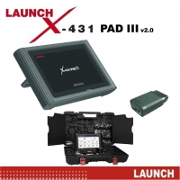 Original Launch X431 Pad III V2.0 With Accessories Wifi Launch X431 Pad 3 Online Programming, Coding And Diagnostic Tool With Bluetooth 4.2 Update Online 3 Years Free