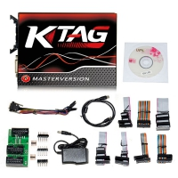 Ktag 7.020 EU Clone V7.020 Ktag EU Master Online Version With Red PCB No Tokens Limitation